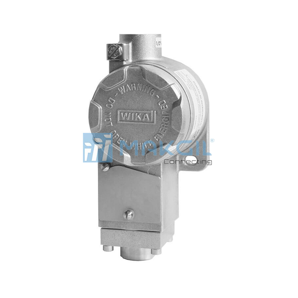WIKA PCA – Công tắc áp suất cơ chống cháy nổ (Compact Pressure Switch with Flameproof Enclosure Exd) hãng WIKA/Germany